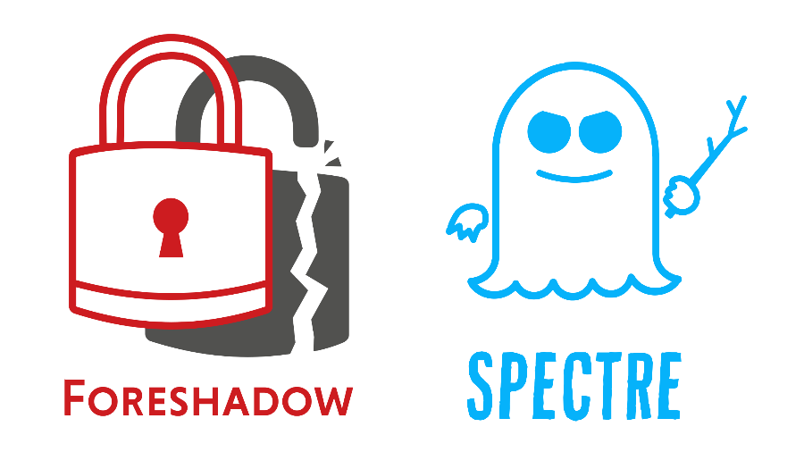 Foreshadow and Spectre logos